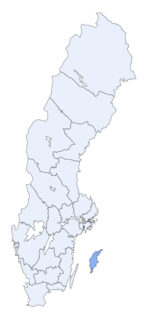 Region of Gotland within Sweden