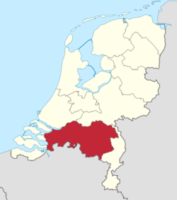 Region of Brabant within the Netherlands