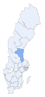 Region of Gävleborg within Sweden